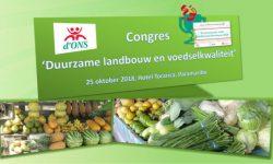 Congres Duurzame landbouw en voedselkwaliteit 2018 - Stichting d'Ons - Koppert Cress