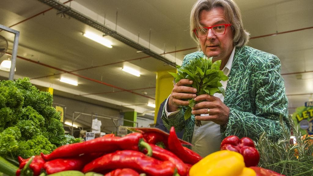 Rob's on the cutting edge of growing better vegetables
