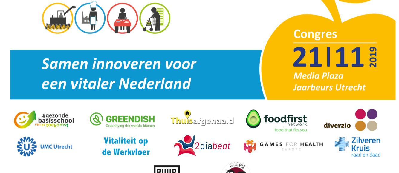 Diagnose Voeding & Gezondheid –  Samen innoveren voor een vitaler Nederland congres
